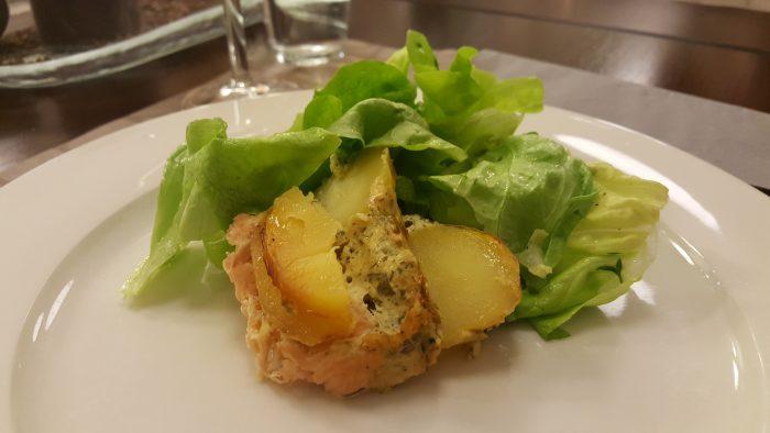 Lachs-Kartoffel-Gratin