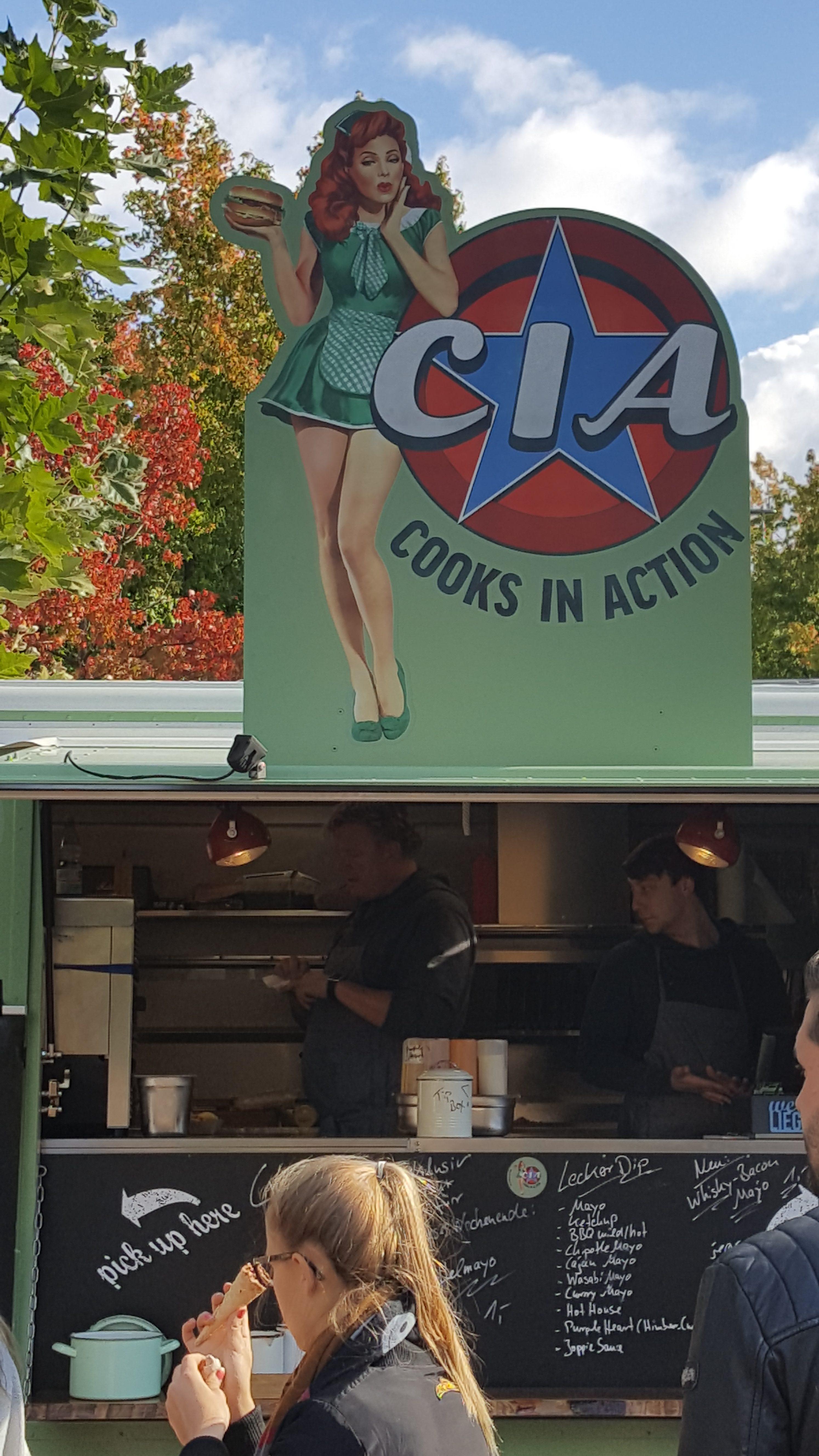 CIA war auch da - als Foodtruck